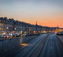 Sunset on Bordeaux by JJFarquitectos
