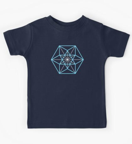 Cuboctahedron, Structur of Universe, Sacred Geometry Kids Tee