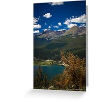 Lazy Summer Days In the Rockies Greeting Card