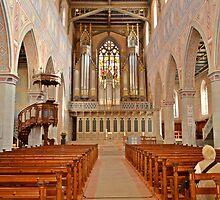 In Side a church in St. Galen by Ikramul Fasih