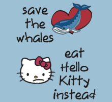 save whales, eat hello kitty instead by dale rogers