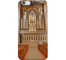 In Side a church in St. Galen iPhone Case/Skin