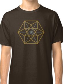 Cuboctahedron, Structur of Universe, Sacred Geometry Classic T-Shirt