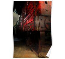 Coal Truck Poster