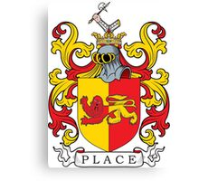 Place Coat of Arms Canvas Print
