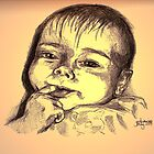 Zafyre, my daughter, at 5months by dimarie