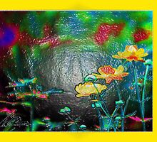 flower painting by fuxart