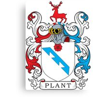 Plant Coat of Arms Canvas Print