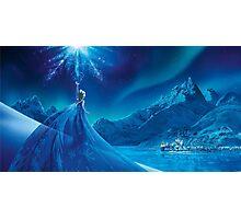 Elsa from frozen Photographic Print