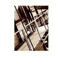 balcony edited Art Print