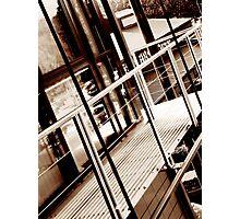 balcony edited Photographic Print