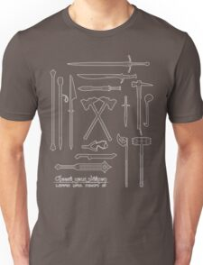 The Weapons of the Company Unisex T-Shirt