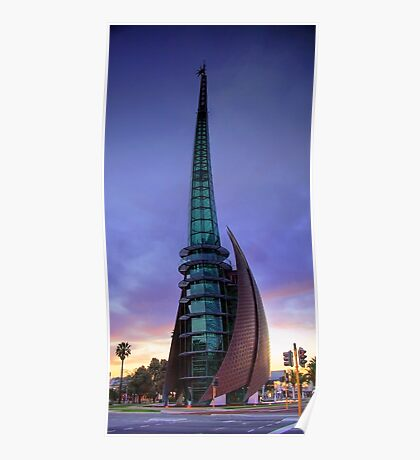 Perth Bell Tower Sunrise Poster