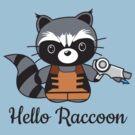 Hello Raccoon by Kimberly1337