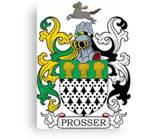 Prosser Coat of Arms Canvas Print