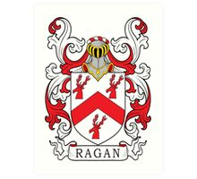 Ragan Coat of Arms Art Print
