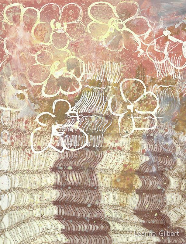 Flower knit by Leanne  Gilbert