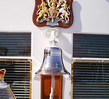 Bell on the Royal Yacht Britannia - Edinburgh by anaisnais