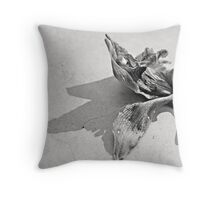 wilted beauty Throw Pillow