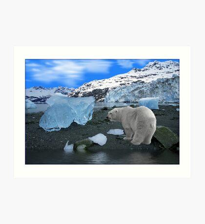 NA637-Ice, Ice Everywhere Art Print