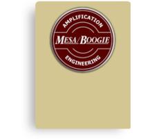 Wonderful Mesa Boogie Canvas Print