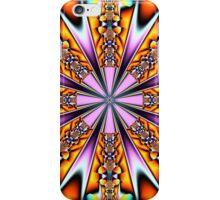 Colourful decorative patterns in a kaleidoscope iPhone Case/Skin