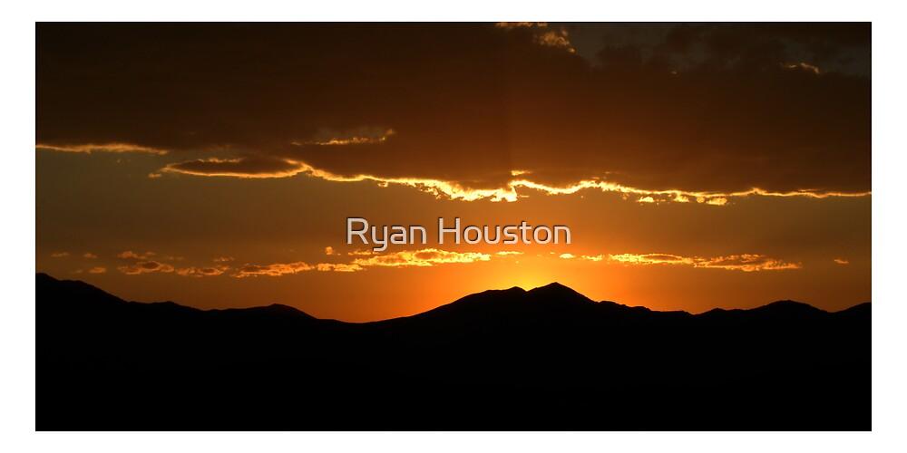 Saratoga Springs Sunset by Ryan Houston