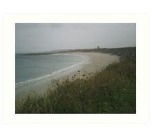 Beach at Fort Hommet Art Print