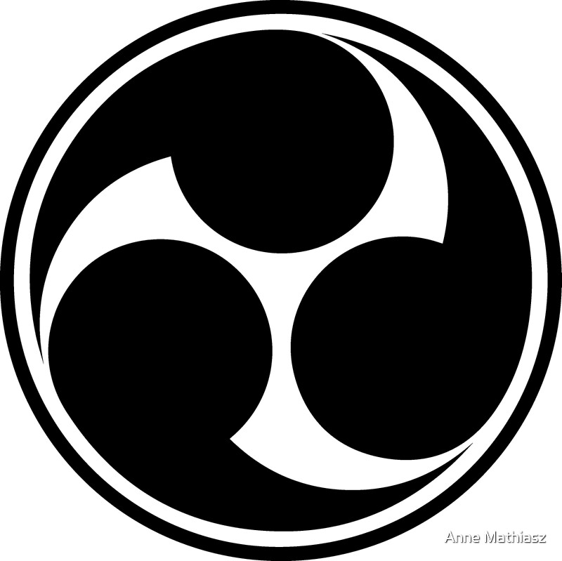Quot Mitsu Tomoe Japan Shinto Trinity Symbol Triskele Quot Poster Von Nitty Gritty Redbubble