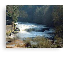 River Clyde at New Lanark Canvas Print