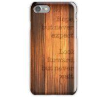 Hope, Look Forward iPhone Case/Skin