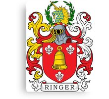 Ringer Coat of Arms Canvas Print