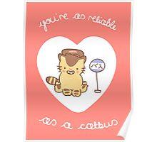 Catbus Valentine Poster