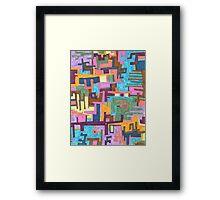 """""""Paths"""" Framed Print"""