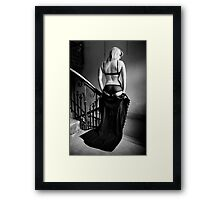 Black Dress Framed Print