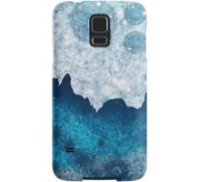 Midnight Blue Glacier Samsung Galaxy Case/Skin
