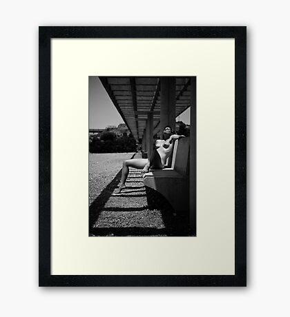 So hot, oh so hot Framed Print