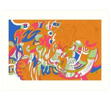 """Rolling Sky"" Art Print"
