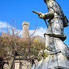 War memorial, Radicofani, Val d'Orcia, Tuscany, Italy by Andrew Jones