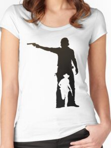Hunt or Be Hunted Women's Fitted Scoop T-Shirt