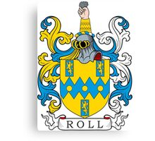Roll Coat of Arms Canvas Print