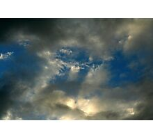 God's Picture. Photographic Print
