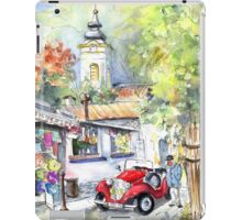 A Beautiful Car In Szentendre iPad Case/Skin