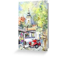 A Beautiful Car In Szentendre Greeting Card