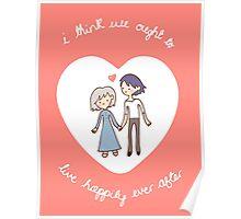 Howl & Sophie Valentine Poster