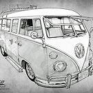 VW CAMPERVAN by mik gailson