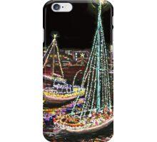 Newport Beach Christmas Boat Parade iPhone Case/Skin