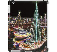 Newport Beach Christmas Boat Parade iPad Case/Skin