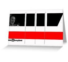 Walt Disney Monorail (horizontal) Greeting Card