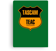Tascam Teac Professional Canvas Print